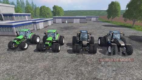 Deutz-Fahr Agrotron 7250 Dynamic8 v1.3 [pack] für Farming Simulator 2015