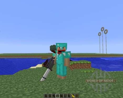 3D Gun [1.5.2] für Minecraft