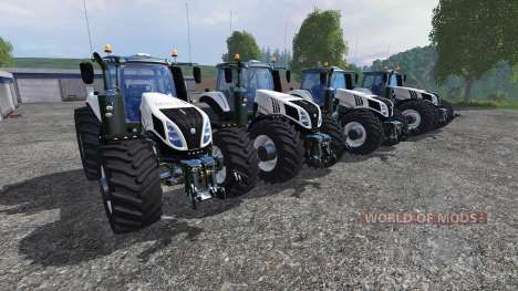 New Holland T8 [pack] v1.5 für Farming Simulator 2015