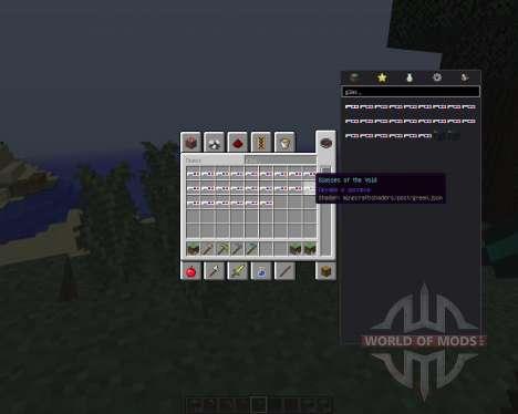 Void Glasses [1.8] pour Minecraft