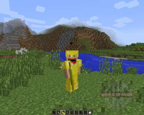 3D Gun [1.7.2] für Minecraft