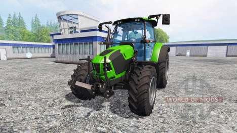 Deutz-Fahr 5120 TTV v2.0 für Farming Simulator 2015