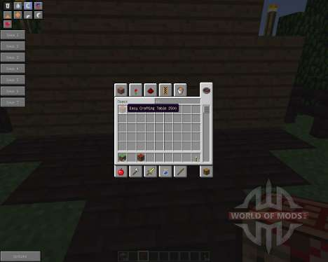 Easy Crafting [1.5.2] pour Minecraft