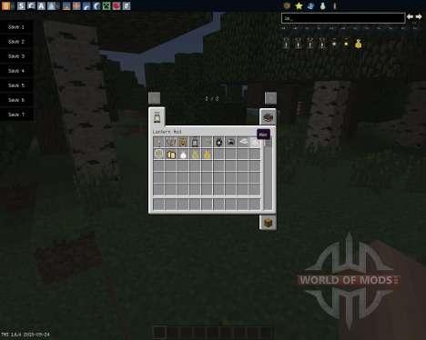 Lanterns and Flashlights [1.6.4] für Minecraft