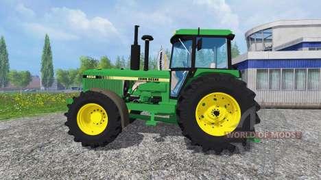 John Deere 4850 v2.0 pour Farming Simulator 2015