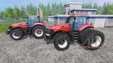 Case IH Magnum CVX 380 twin pack shader v1.2b pour Farming Simulator 2015
