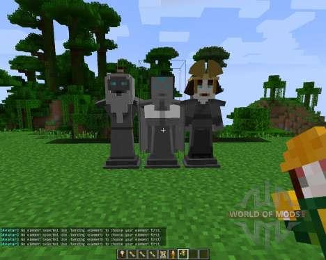Avatar: The Last Blockbender [1.7.2] pour Minecraft