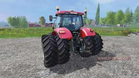 Case IH Puma CVX 230 v4.0 TwinWheels pour Farming Simulator 2015