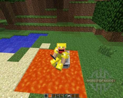 LavaBoat [1.5.2] pour Minecraft