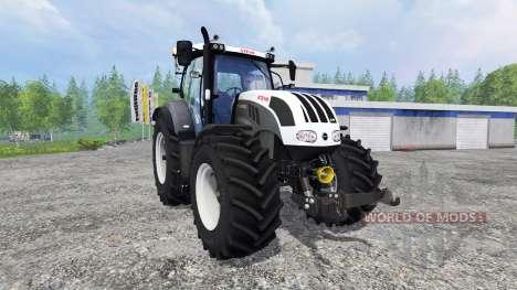 Steyr CVT 6230 grey für Farming Simulator 2015