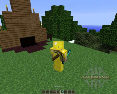 Back Tools [1.5.2] pour Minecraft