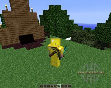 Back Tools [1.5.2] für Minecraft