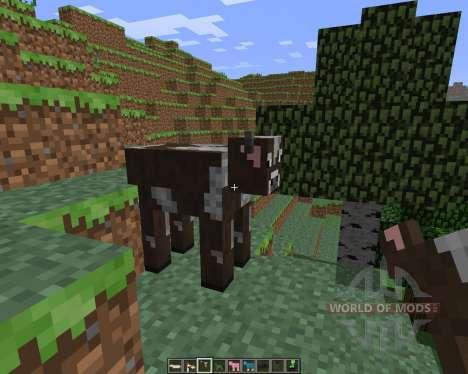 Craftable Animals [1.6.4] pour Minecraft