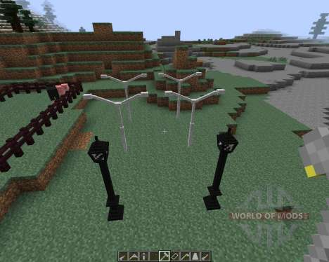 Lamps And Traffic Lights [1.7.2] pour Minecraft