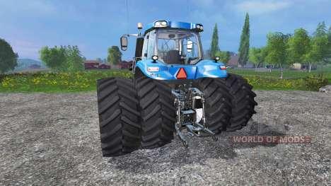 New Holland T8.320 Dynamic8 v1.1 blue für Farming Simulator 2015