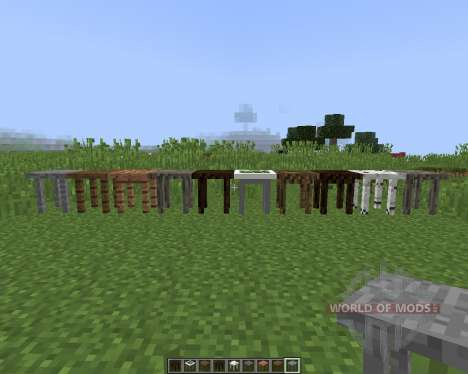 Fancy Tables für Minecraft