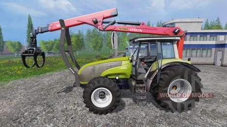 Valtra T140 Forest pour Farming Simulator 2015