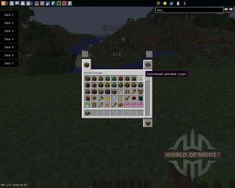Better Storage [1.7.2] für Minecraft
