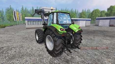 Deutz-Fahr Agrotron 7250 FL v3.0 pour Farming Simulator 2015