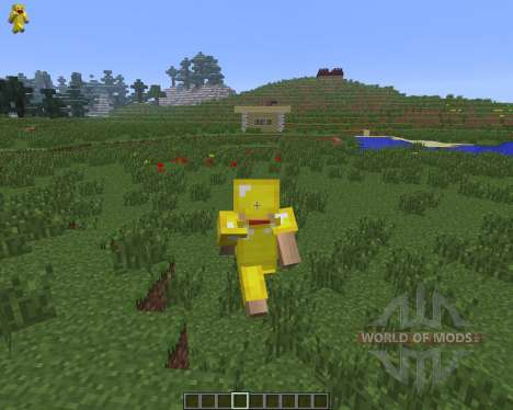 Character On GUI [1.6.4] für Minecraft