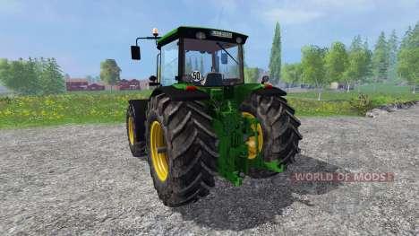 John Deere 8530 v2.0 fixed pour Farming Simulator 2015