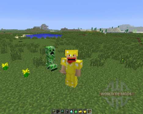 Tameable (Pet) Creepers [1.6.4] für Minecraft
