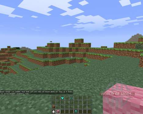 Quick Hotbar [1.6.4] pour Minecraft