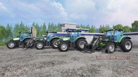 Deutz-Fahr 5110 TTV and 5130 TTV für Farming Simulator 2015