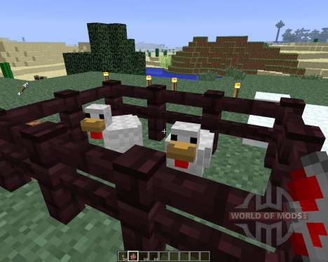 ChickenShed [1.6.4] pour Minecraft