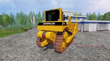 Caterpillar D7R pour Farming Simulator 2015