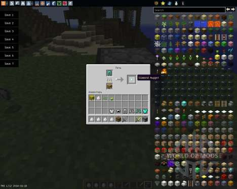 Recycle Items Plus [1.7.2] für Minecraft