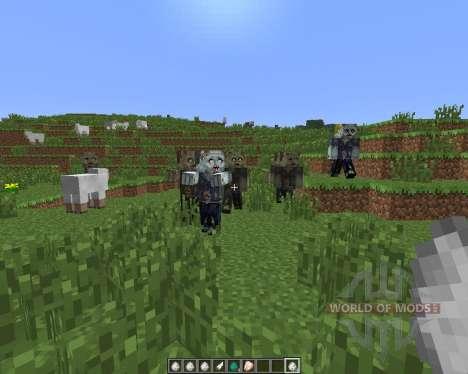 Walking Dead [1.6.4] pour Minecraft