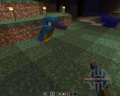 Exotic Birds [1.8] für Minecraft