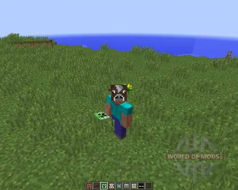 Masken Mod von Hamster_Furtif [1.8] für Minecraft