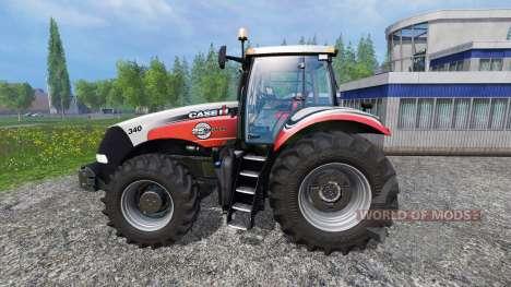 Case IH Magnum CVX 340 Silver Edition v1.0.2 für Farming Simulator 2015