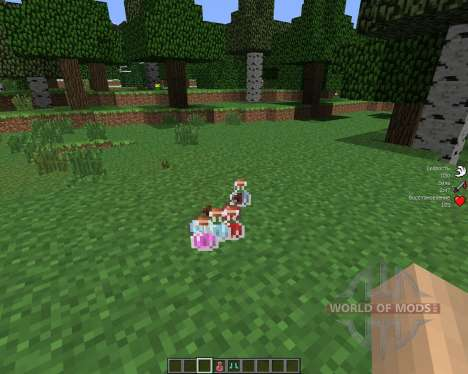 StatusEffectHUD [1.6.4] pour Minecraft