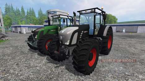 Fendt 936 Vario Forest Edition v1.2 für Farming Simulator 2015