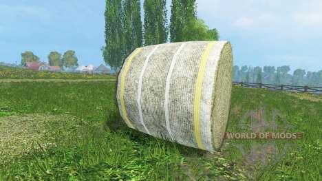 De nouvelles textures de balles de foin pour Farming Simulator 2015