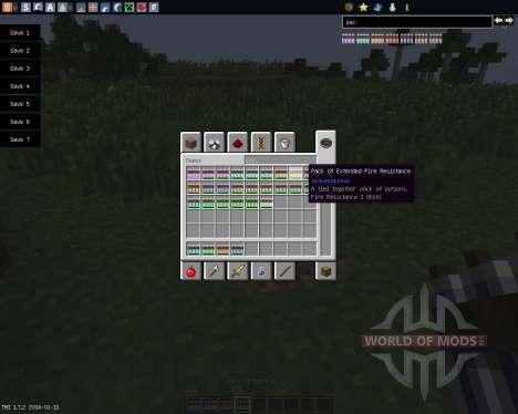 Potion Packs [1.7.2] für Minecraft
