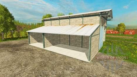 Garage pour Farming Simulator 2015