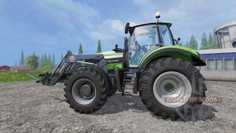 Deutz-Fahr Agrotron 7250 TTV v2.0 frontloader für Farming Simulator 2015