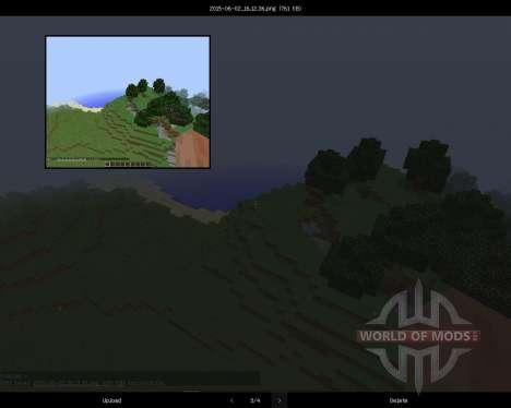 Screenshots Enhanced [1.8] für Minecraft