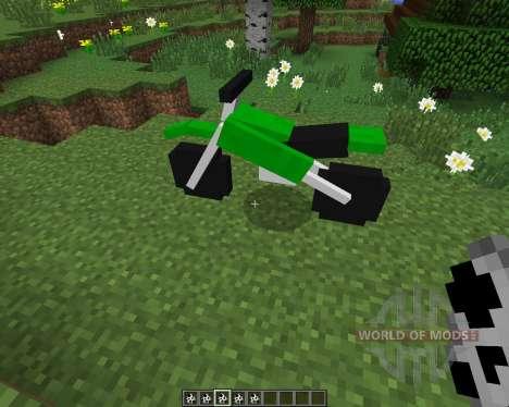 The Dirtbike [1.7.2] für Minecraft