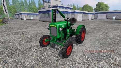 Deutz F1 M414 pour Farming Simulator 2015
