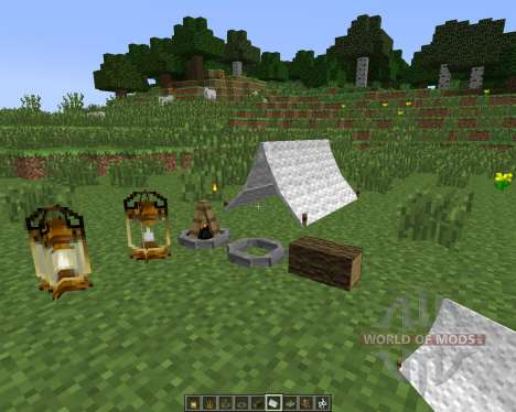 The Camping [1.7.10] pour Minecraft
