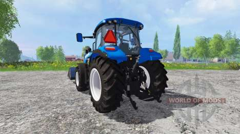 New Holland T5.115 FrontLoader pour Farming Simulator 2015