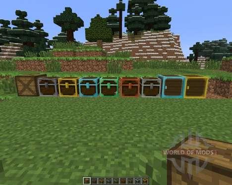 Better Storage [1.6.4] pour Minecraft