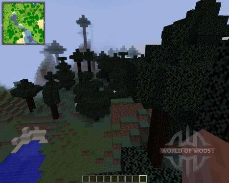 Xaeros Minimap [1.8] pour Minecraft
