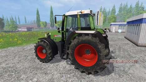 Fendt 820 Vario TMS pour Farming Simulator 2015