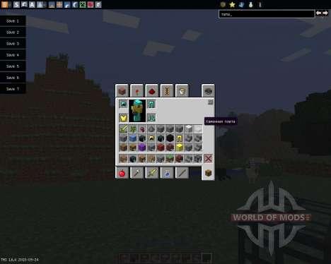 Inventory Tweaks [1.6.4] für Minecraft